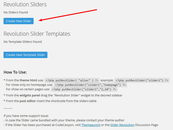Revolution Slider Tutorial Step 2