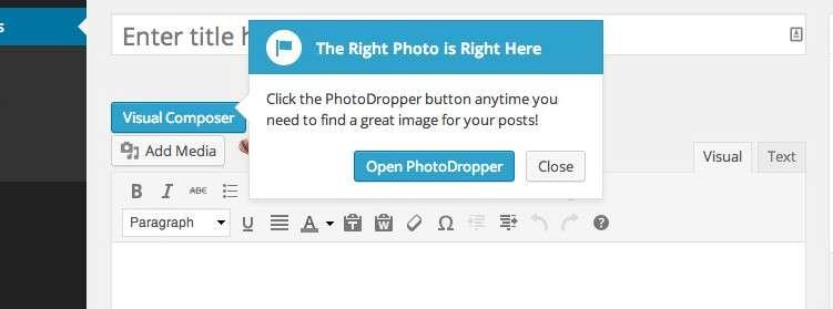 Photodropper plugin