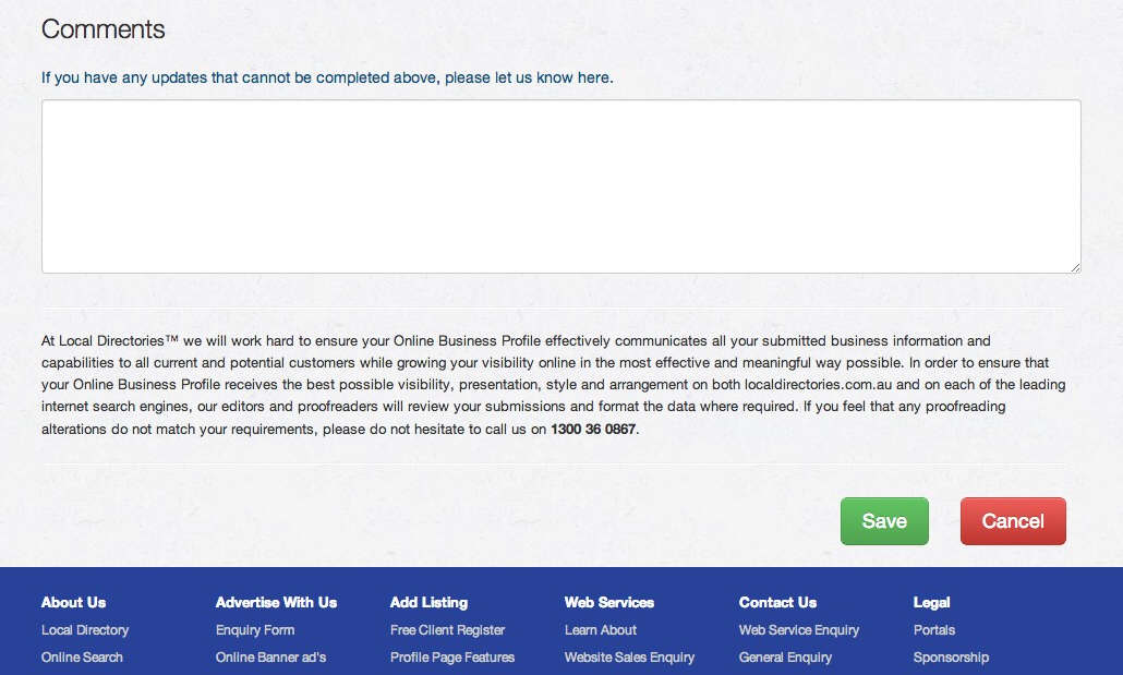 Add a business listing to LocalDirectories - Web Design with