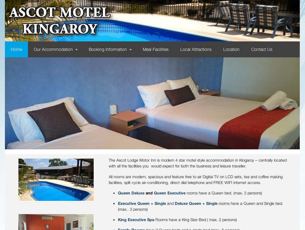 Accommodation in Kingaroy