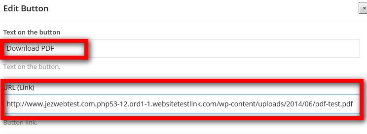Create button that links to PDF - Web Design with WordPressWeb