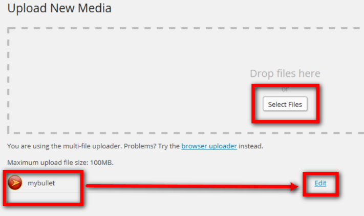 Create a custom bullet list using your own bullet image - Web Design