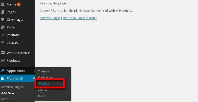 plugin-widget