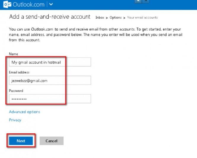 add-send-receive-account