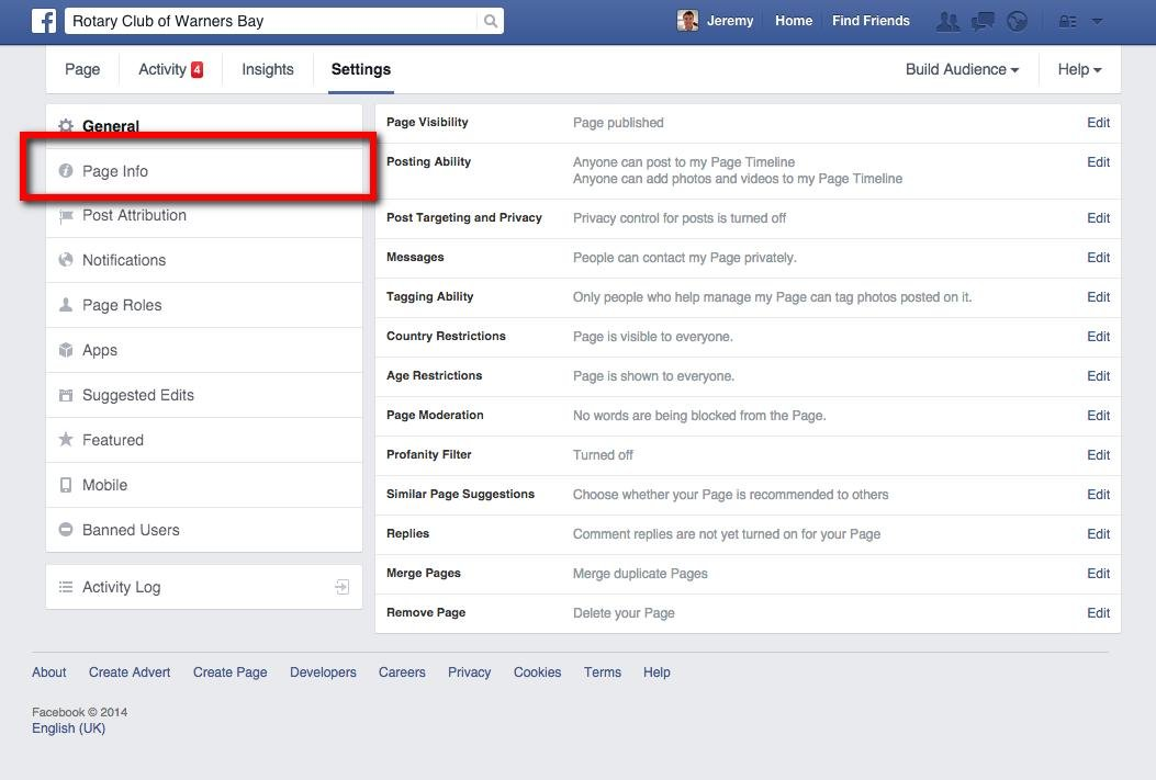 Create a personalized URL of your Facebook page - Web Design