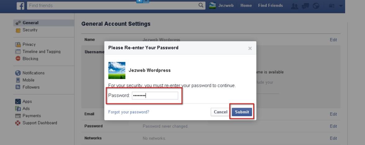 Make a Personalized Facebook URL - Web Design with WordPressWeb ...