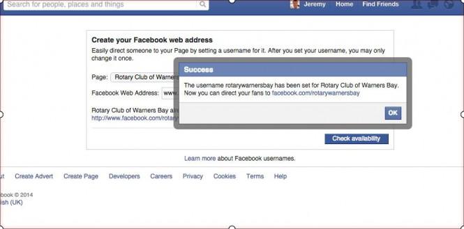 facebook-web-address-success
